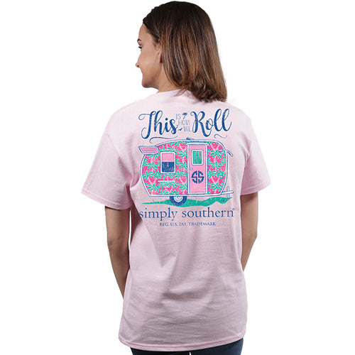 Simply Southern Collection How We Roll T-shirt