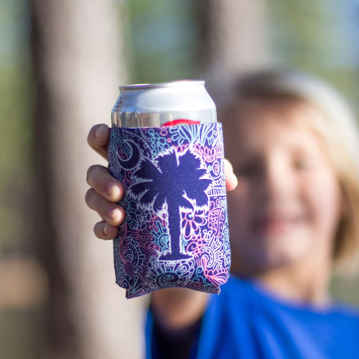 Palmetto Shirt Co. Doodle Palmetto Reversible Koozie