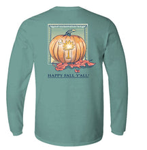 Load image into Gallery viewer, Palmetto Pumpkin Long Sleeve T-shirt