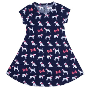 ITS A GIRL THING PUPPIES YOUTH DRESS