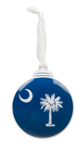 Brownlow Gifts Palmetto Moon Ornament