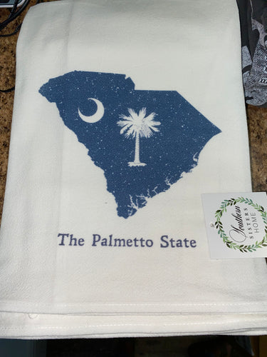 Southern Sisters Home Palmetto Moon Towel