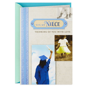 HALLMARK THINKING OF YOU WITH PRIDE GRADUATION CARD FOR NIECE