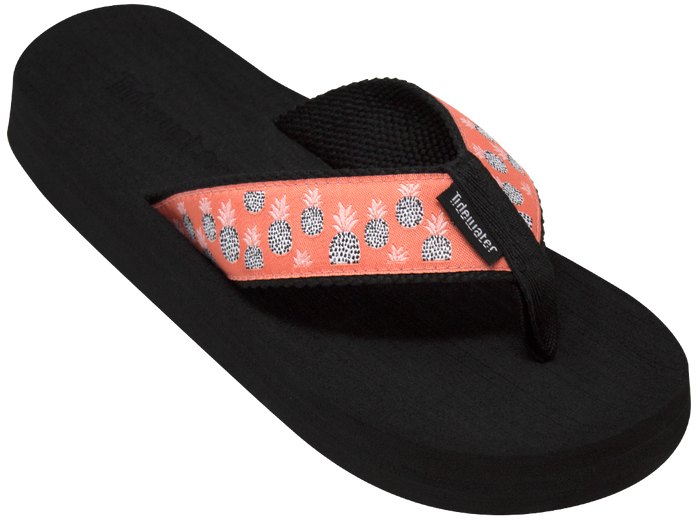 Tidewater Pineapples Boardwalk Flip Flops