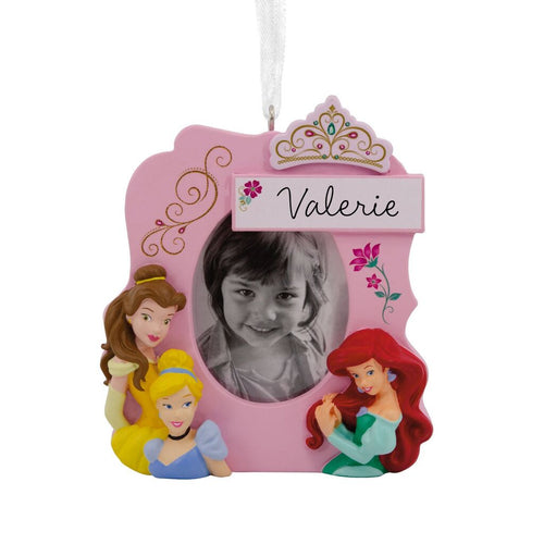 Hallmark Disney Princesses Photo Frame Personalized Ornament