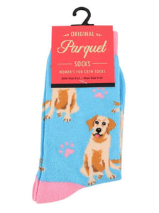 Parquet Ladies Retriever Crew Socks