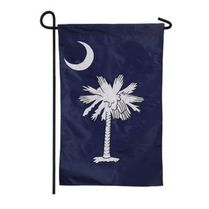 EVERGREEN SOUTH CAROLINA GARDEN FLAG