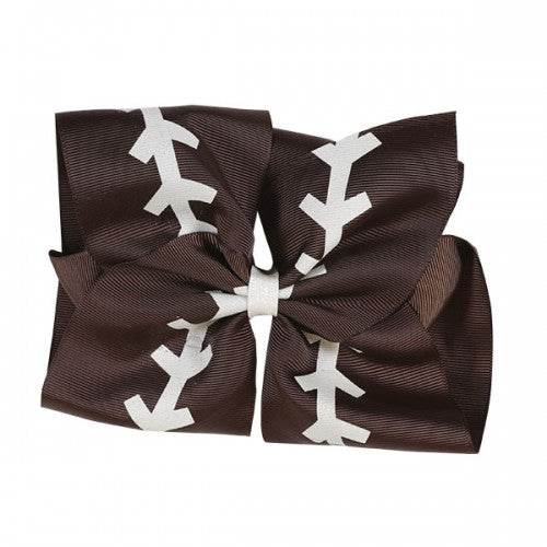 SIMPLY SOUTHERN COLLECTION - FOOTBALL HAIR BOW