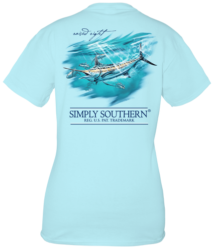 Simply Southern Marlin Youth Short Sleeve T-shirt