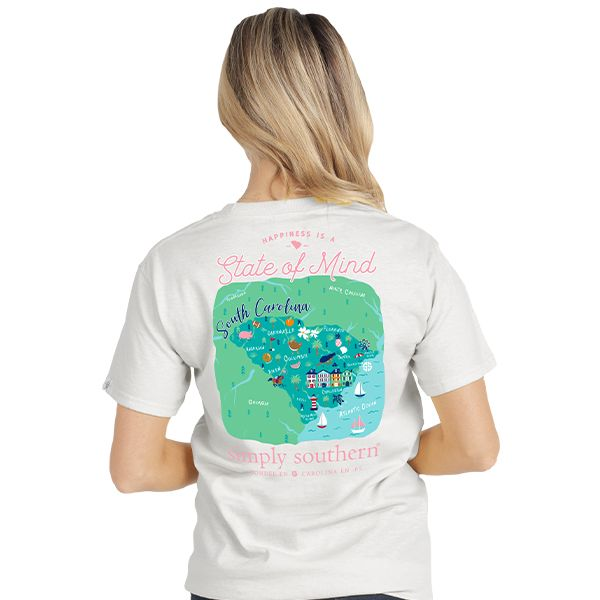 Simply Southern Collection SC State of Mind T-shirt