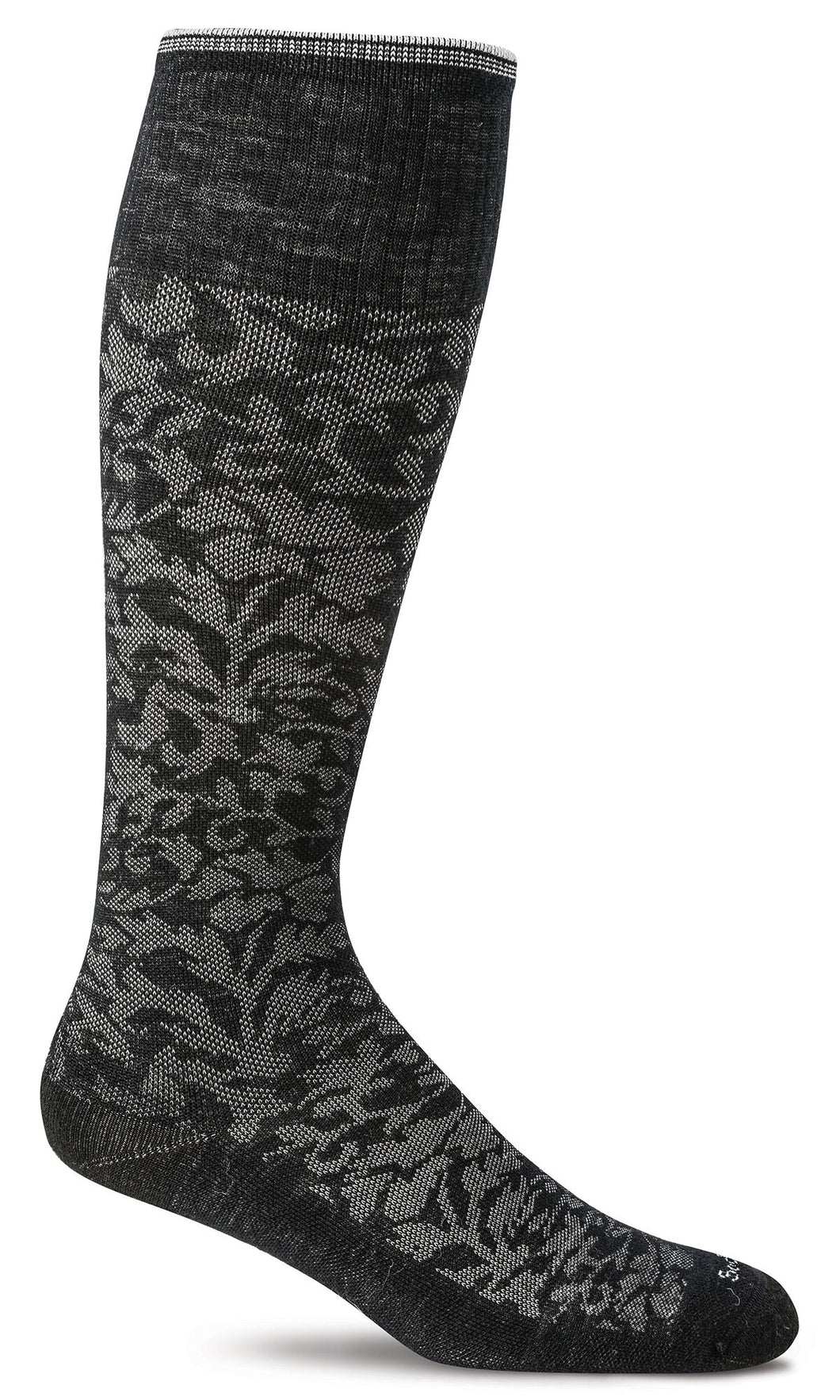 Sockwell Black Women's Damask Socks