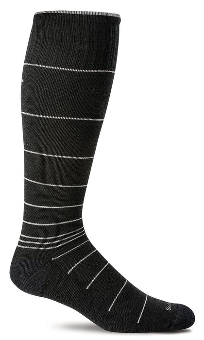 Sockwell Black Stripe Men's Circulator Socks