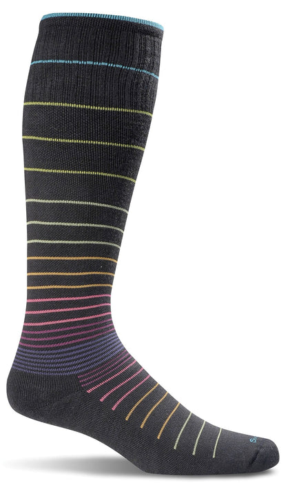 Sockwell Black Stripe Women's Circulator Socks