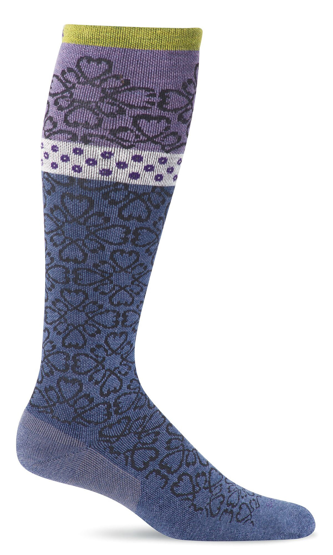 Sockwell Denim Women's Botanical Socks