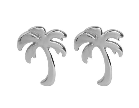 Whispers Palm Tree Stud Earrings