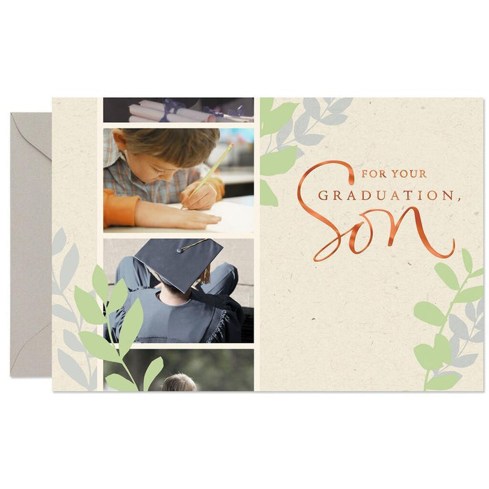 HALLMARK SON, I'VE LOVED WATCHING YOU GROW UP GRADUATION CARD