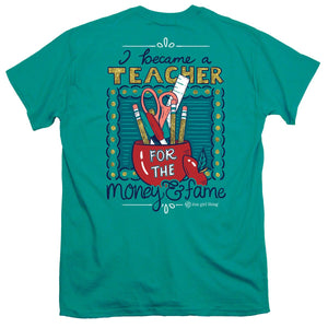 ITS A GIRL THING I BECAME I TEACHER SHORT SLEEVE T-SHIRT