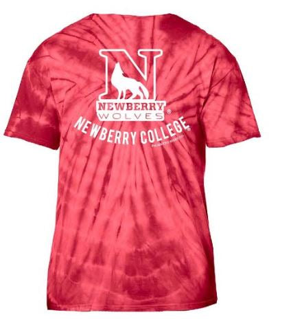 PALMETTO SHIRT CO. NEWBERRY COLLEGE TIE DYE