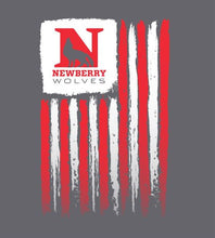 Load image into Gallery viewer, Newberry College USA Flag Short Sleeve T-shirt