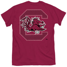 Load image into Gallery viewer, PALMETTO SHIRT CO. USC FIGHT SONG SHORT SLEEVE T-SHIRT