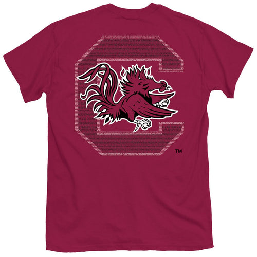 PALMETTO SHIRT CO. USC FIGHT SONG T-SHIRT