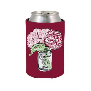 PALMETTO SHIRT CO. UNIVERSITY OF SOUTH CAROLINA FLORAL KOOZIE