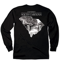 Load image into Gallery viewer, PALMETTO SHIRT CO. USC ONE COLOR STATE LONG SLEEVE T-SHIRT