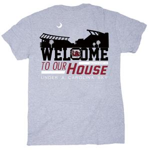 PALMETTO SHIRT CO. USC WELCOME TO OUR HOUSE SHORT SLEEVE T-SHIRT