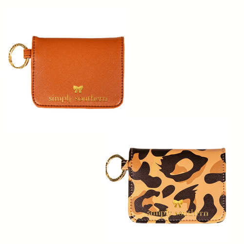 SIMPLY SOUTHERN COLLECTION LEATHER BUTTERFLY WALLET
