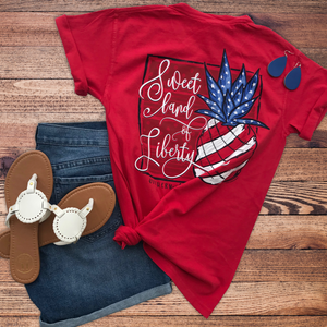 Southernology Sweet Land of Liberty Short Sleeve T-shirt
