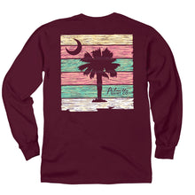 Load image into Gallery viewer, PALMETTO SHIRT CO. WOOD PALMETTO LONG SLEEVE T-SHIRT