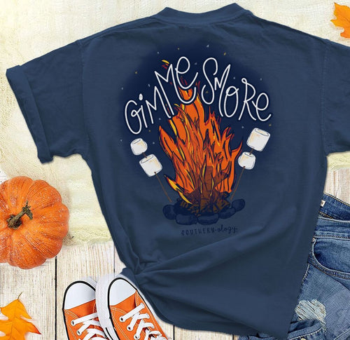 Southernology Gimme Smore Firepit Short Sleeve T-shirt