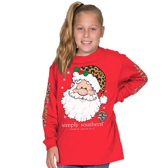 Simply Southern Collection Youth Falala Long Sleeve T-shirt