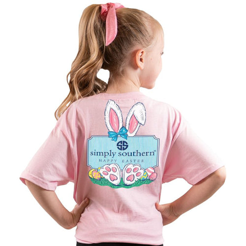 Simply Southern Easter Youth Short Sleeve T-shirt