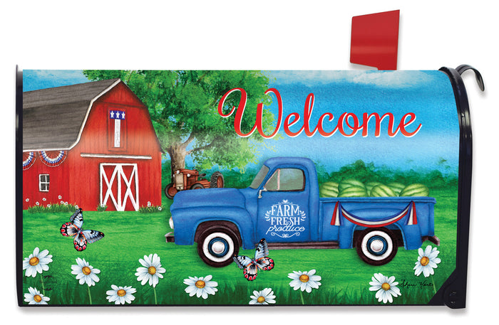 Briarwood Lane Sunshine Barn Mailbox Cover