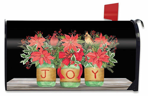 Briarwood Lane Joy Mason Jars Mailbox Cover