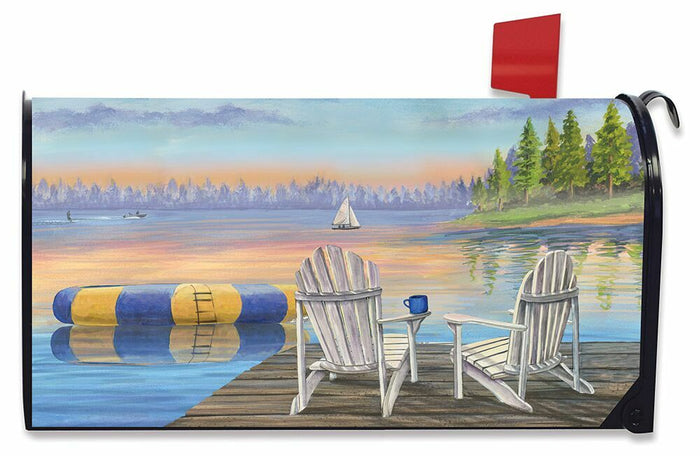 Briarwood Lane Waterfront Retreat Dock Mailbox Cover
