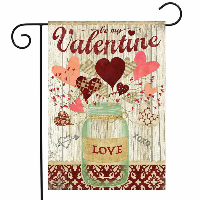 Briarwood Lane Lovely Hearts Garden Flag