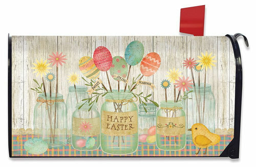 Briarwood Lane Spring Egg Bouquet Mailbox Cover