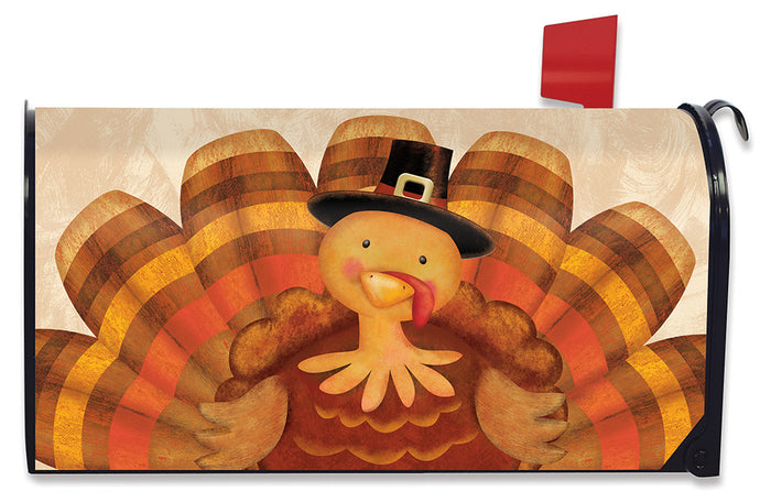 Briarwood Lane Thanksgiving Turkey Holiday Mailbox Cover