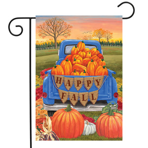 Briarwood Lane Happy Fall Pickup Garden Flag