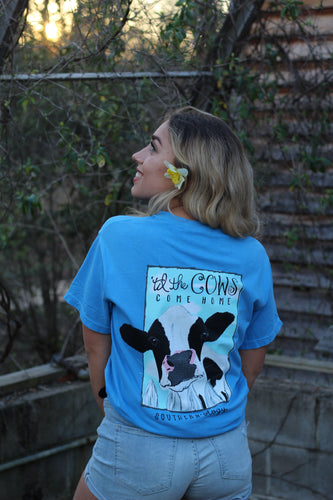 Southernology Til The Cows Comes Home Short Sleeve T-shirt