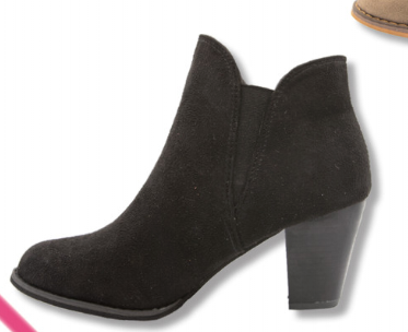 Simply Southern Collection Black Heeled Booties