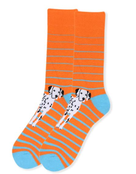 Parquet Men's Dalmatian Novelty Socks