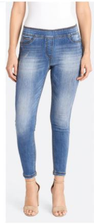 Coco & Carmen Distressed Skinny Ankle
