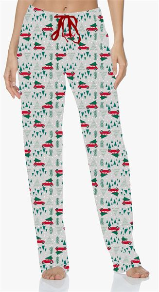 Hello Mello Christmas Vacation Holiday Lounge Pants