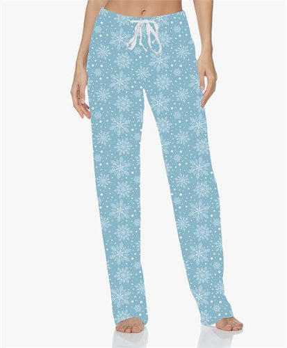 Hello Mello Snow Cute Holiday Lounge Pants