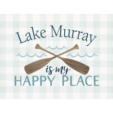 Load image into Gallery viewer, P. Graham Dunn Lake Murray is My Happy Place Word Block Tabletop Decor