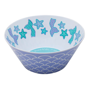 Occasionally Made Mermaid Melamine Bowl