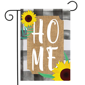 Briarwood Lane Farm House Home Burlap Garden Flag